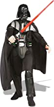 Ultimate Halloween Costume UHC Men's Deluxe Darth Vader Star Wars Theme Party Fancy Costume, Standard (up To 44)