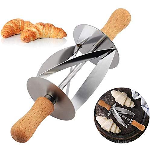 Staalmes Croissant Broodjes, Gebak Messen Bakkerij, Bakken, Keuken Incisie Rollen Roestvrij Stalen Mes Croissants,Silver