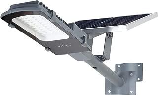 Gebosun LED 30W Solar Flood Outdoor Street Lights,IP65 Waterproof Dusk to Dawn Security Area Light 3000 Lumen 6000K for Yard, Garden, Warehouse, Swimming Pool, Pathway, Basketball Court.