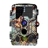 Icefox Wildkamera 20MP FHD Outdoor Wasserdichte Überwachungskamera für Wildtierjagd und...