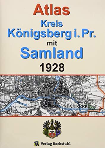 ATLAS Kreis Königsberg i. Pr. mit Samland 1928 - Ostpreußen
