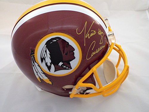 Kirk Cousins Signed Replica Helmet / JSA COA