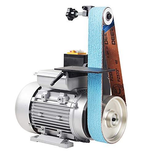 LWQ 915 Industrial Grade High Speed Kleine Bank Sharpener DIY Bandschleifer Vertikale Polierschleifmaschine,1500w