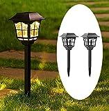 Tapetum Solar European Pathway Garden Light All Weather Outdoor Solar Landscape Lights