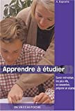 Apprendre à étudier