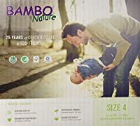 Bambo Nature Premium Baby Diapers, Maxi, Size 4, 60 Count by Bambo Nature
