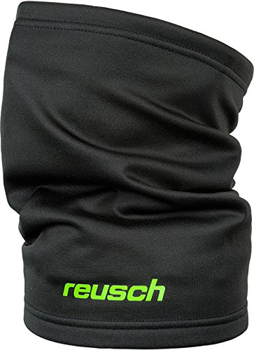 Reusch 3762000 Neck Warmer, schwarz, 56