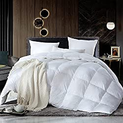 Egyptian Bedding Luxurious Siberian Goose Down Comforter