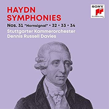 "Haydn: Symphonies / Sinfonien Nos. 31 ""Hornsignal"", 32, 33, 34"