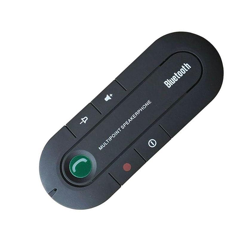 ヒープ感謝している大事にするBluetoothプレーヤーサンバイザーバージョン4.1車のBluetoothハンズフリー通話受信機音楽再生デュアル携帯電話
