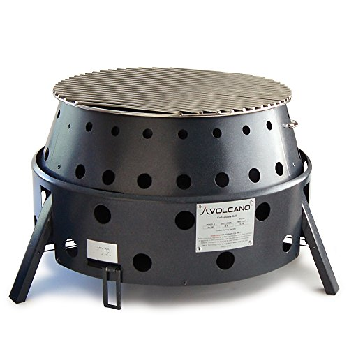 Volcano Grills VL-20-300 3-Fuel Portable Camping Stove & Fire Pit Review