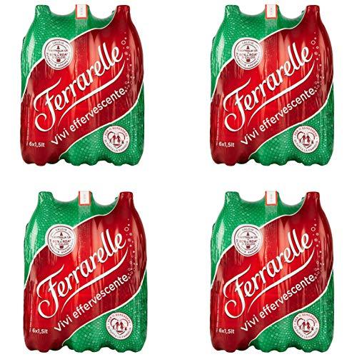 Ferrarelle Acqua Minerale Effervescente Naturale Microbiologicamente pura - 1.5L (Promozione Sales & Service) Pack Z