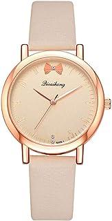 Wristband Women's Wrist Watches Ladies Series Girls Watch Female for Women Women's Watch Simple Casual PU Quartz Watch,Col...