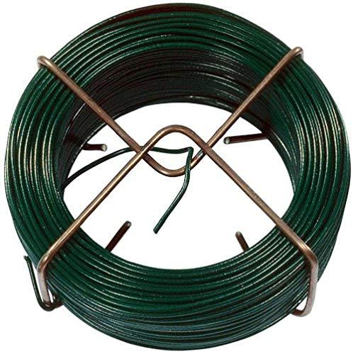 Connex Drahtspinne 1,4 mm x 50 m, grün / Bindedrahtspule / Basteldraht / Abrollspinne / Wickeldraht / FLOR78610