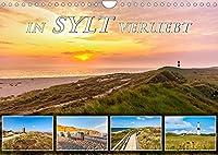 IN SYLT VERLIEBT (Wandkalender 2022 DIN A4 quer): Zauberhafte Impressionen von der Insel (Monatskalender, 14 Seiten )