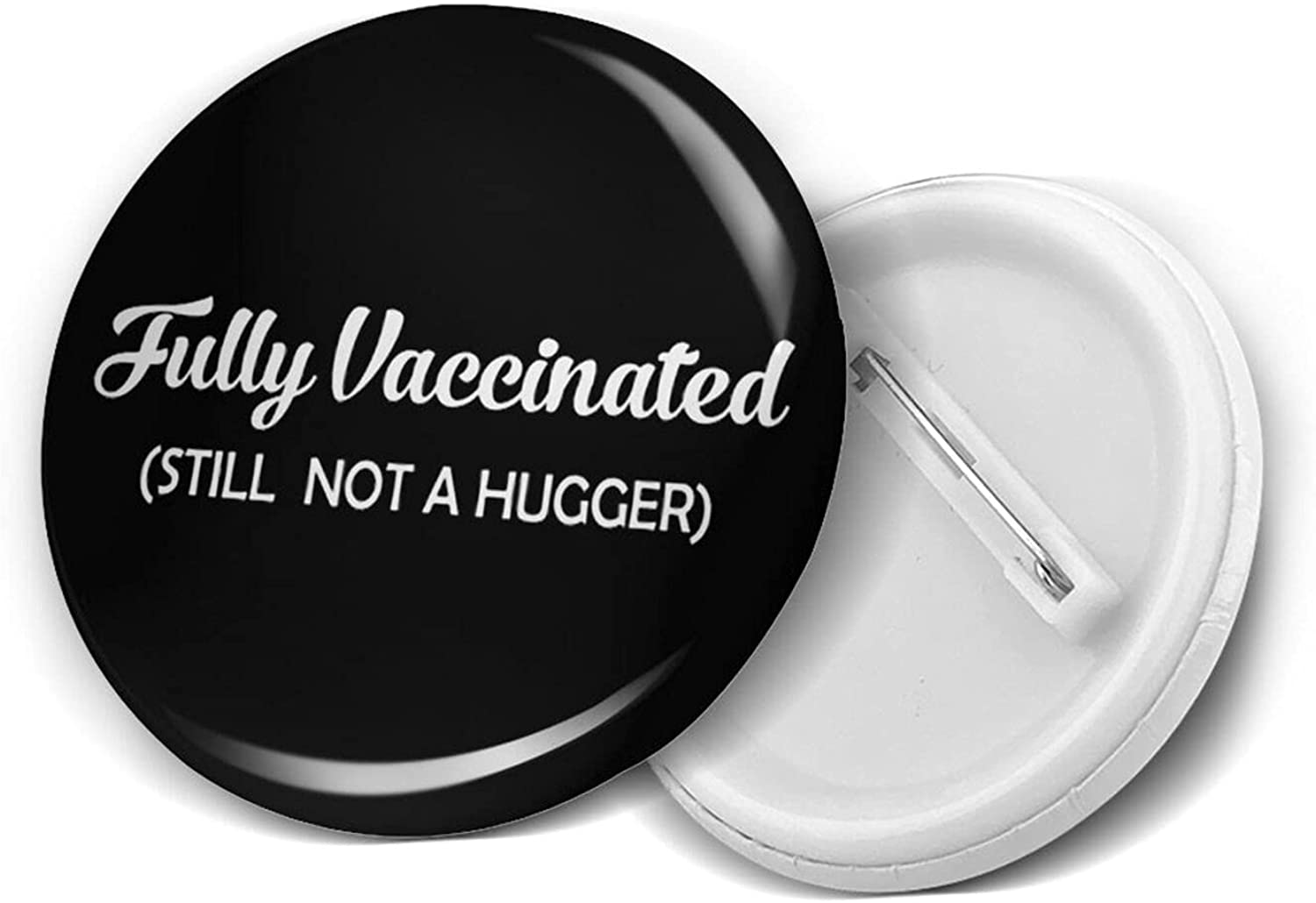 Fully Vaccinated And It Feels So Good Buttons-Decorate Round Badges with Pins