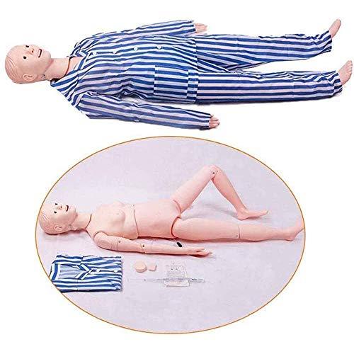 WRQ Krankenpflege Pflegepuppe, Krankenpflegepuppe Für Zum Nursing Medical Ausbildung Lehre & Bildung Medizinische Versorgung Altenpflege 170CM