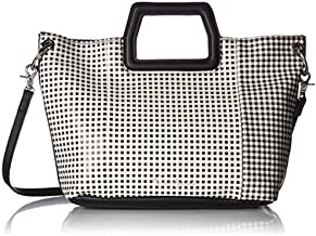 Foley + Corinna Tate Small Fold Over Tote, gingham