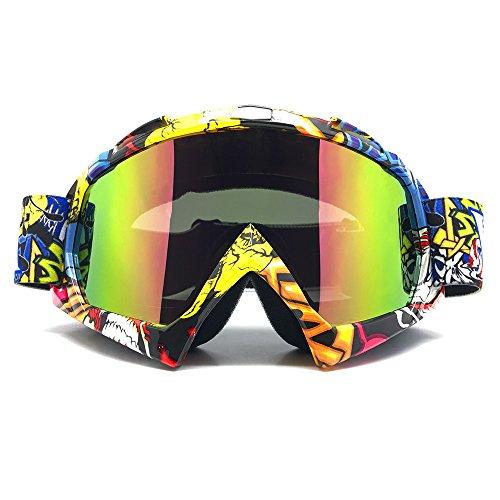 ZDATT Professional Adult Motocross Goggles Dirtbike ATV Motorcycle Gafas UV Protection Motorbike Ski Snowboard Goggles