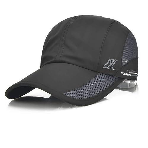 6f74654e4 Sport Cap Summer Quick Drying Sun Hat UV Protection Outdoor Cap for Men,  Women