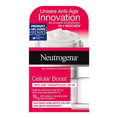 2 x Neutrogena Cellular Boost Anti-Age Tagespflege Creme jeweils 50ml LSF 20