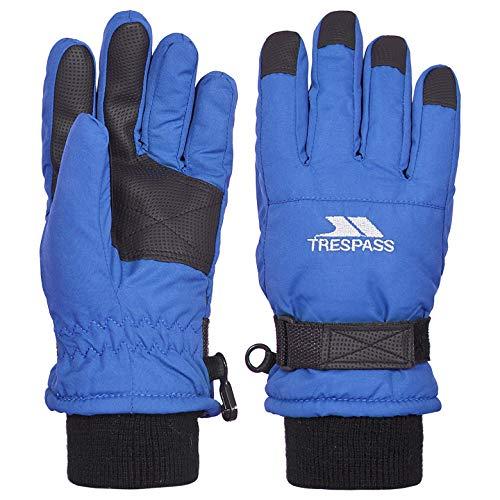 Trespass Ruri II Guantes de Nieve, Infantil, Azul eléctrico, Size 2/4