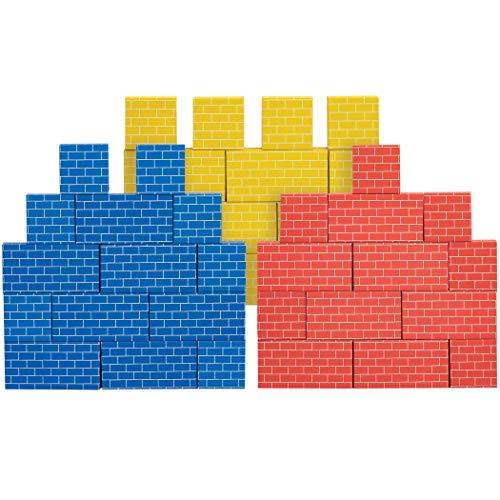 Bankers Box at Play Cardboard Building Blocks, 40 Pack (1230801)