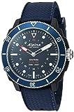 Alpina Horological Smart - Reloj deportivo de cuarzo para hombre, acero inoxidable y goma, color azul (Modelo: AL-282LNN4V6)