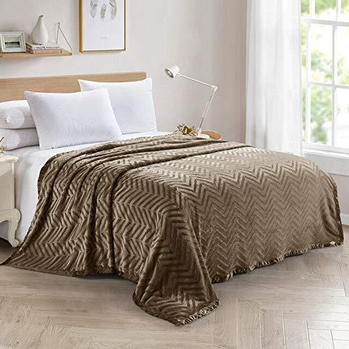 RONGXIE Neue Einfache Einfarbige Druckdecke Bettdecken Sofa Weiche Erwachsene Fleece Decken Flanell Tagesdecke Für Die Couch Home Camping Bettwäsche