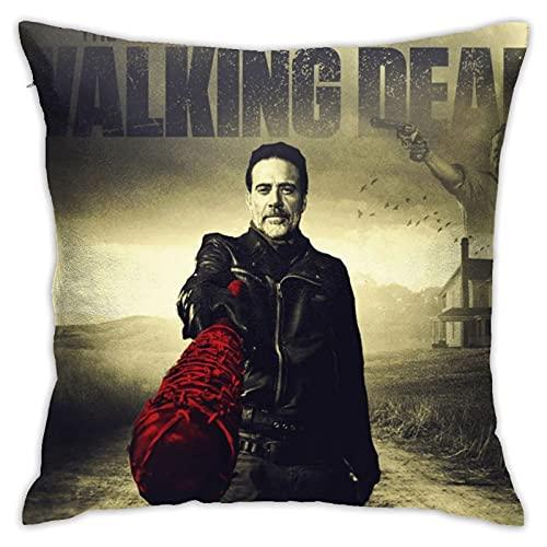 The Wa_Lking Dead - Juego de fundas de almohada para sofá, dormitorio, coche, 45,7 x 45,7 cm