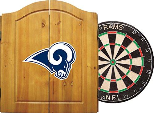 Cheap Imperial Officially Licensed NFL Merchandise: Dart Cabinet Set with Steel Tip Bristle Dartboar...