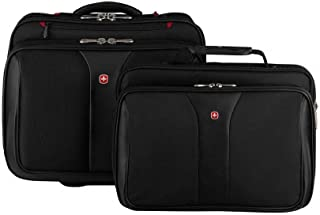 Wenger Potomac 2-Piece Business Set with Removable Laptop Slimcase 600661, Black