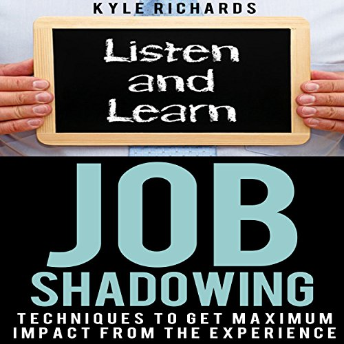 Job Shadowing audiobook cover art
