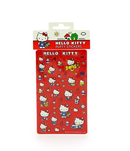 Pegatinas Hello Kitty vintage con relieve