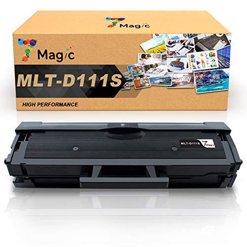 7Magic Compatible Toner pour Samsung MLT-D111S D111S pour Samsung Xpress M2070 M2070W M2070FW M2026 M2026W M2022W M2022 M2020W M2020 (1 Pack)
