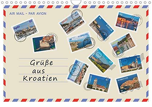Grüße aus Kroatien (Wandkalender 2020 DIN A4 quer): Grüße aus Kroatien, 12 Ideen für den Urlaub! Entdecken Sie einen kleinen Teil architektonischer ... (Monatskalender, 14 Seiten ) (CALVENDO Orte)