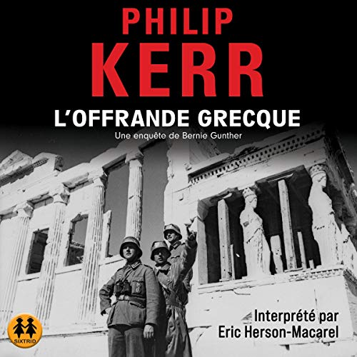 L'Offrande grecque audiobook cover art