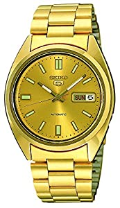 Seiko Mens Automatic Watch, Analogue Classic Display and Stainless Steel Strap SNXS80