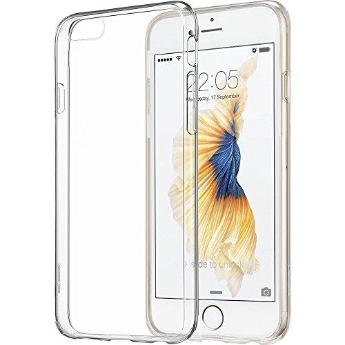 ivoler Hülle Case Kompatibel für iPhone 6S / iPhone 6 4.7 Zoll, Premium Transparent Klare Tasche Schutzhülle Weiche TPU Silikon Gel Handyhülle Schmaler Cover