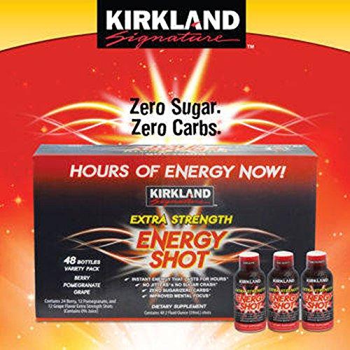 Kirkland Signature™ Extra Strength Energy Shot 48 Count, 2 Ounces Each