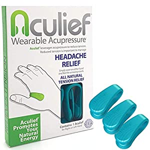 AWARD WINNING, DOCTOR APPROVED, NATURAL HEADACHE AND TENSION RELIEF. Aculief provides pressure to the LI4 acupressure point. The LI4 acupressure point is one of the most powerful points on your body and has been used for thousands of years to provide...