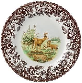 Spode Woodland American Wildlife Mule Deer Dinner Plate