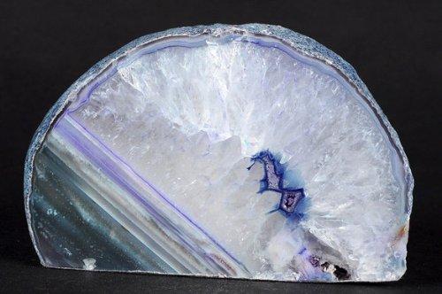 Achat Teelicht 802 g., Teelichthalter blau-violett