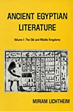 Ancient Egyptian Literature V 1 (Paper only): 001