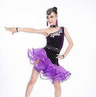fd0689625bd SMACO Trajes de Baile Latino para niños Trajes de Baile Vestuario de Baile  Latino de Rumba