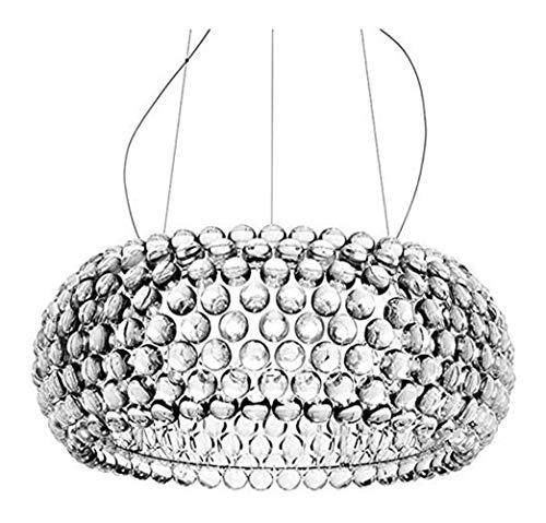 Modern Suspension Pendant Lamp Sweat Ion Lighting Pendant Lights Wohnzimmer Acryl RS7 Anhänger Lichter Klar Anhänger Lampe For Dining Room Rustic Light Fixtures
