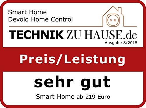 devolo Home Control Starter Paket (Z-Wave Hausautomation, Haussteuerung per iOS/Android App, einfache Installation, Smart Home Starter Set: Zentrale, Schaltsteckdose, Türkontakt, Fensterkontakt) - 11