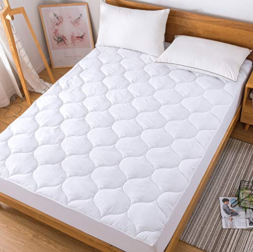 (55% OFF Deal) Down Alternative Quilted Mattress Protector $19.80