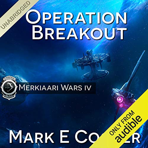 Operation Breakout audiobook cover art