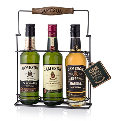 Jameson Tri-Pack Irish Whiskey, Caskmates, Black Barrel 3 x 0,2 Liter